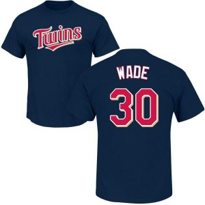 LaMonte Wade Minnesota Twins Men's Navy Roster Name & Number T-Shirt -